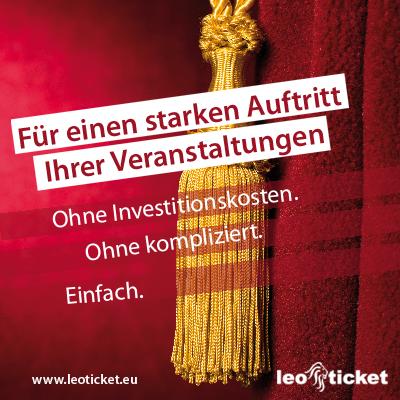 Leoticket - Die Ticketing-Komplettlösung mit schwäbischen Werten.  leoticket ist zuverlässig. günstig. schwäbisch innovativ.