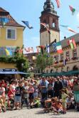 Rossol Nicola  12. Festival der Straßenkunst in 77716 Haslach am 29. Juli 2018 Gauklerfestivals Clownsfestivals